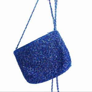 VINTAGE La Regale Beaded Crossbody Bag